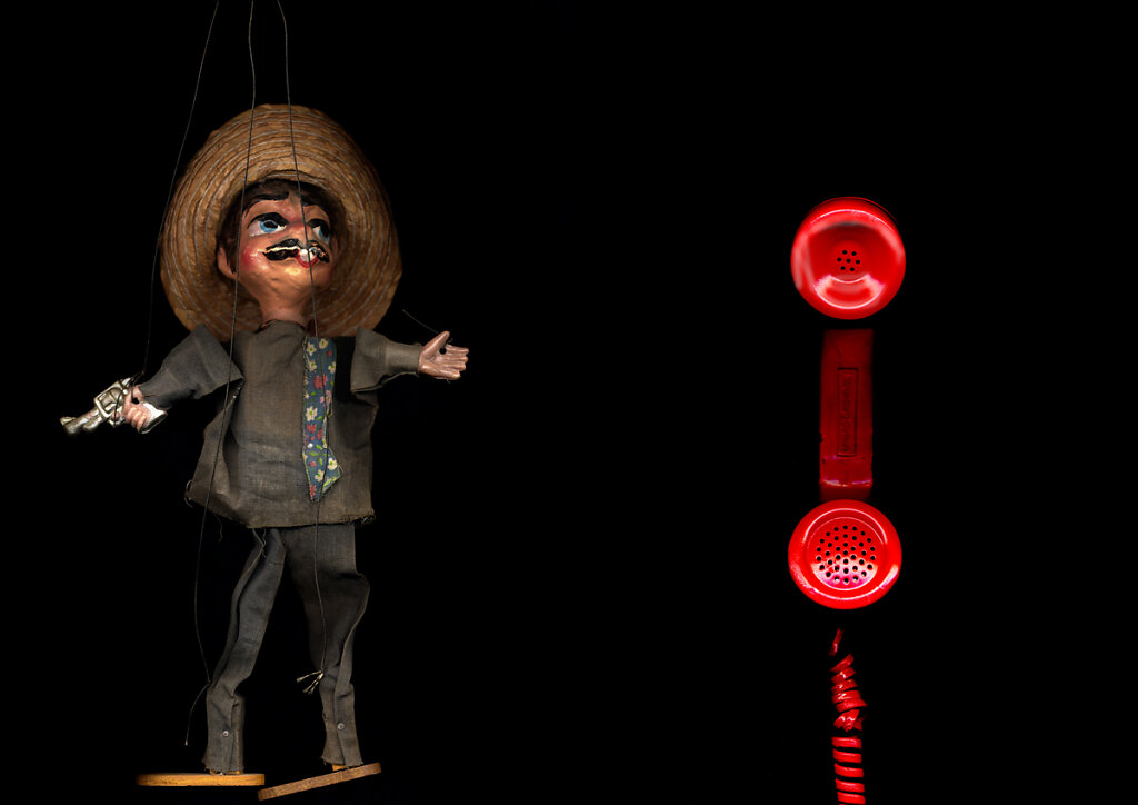 Marionette and Phone